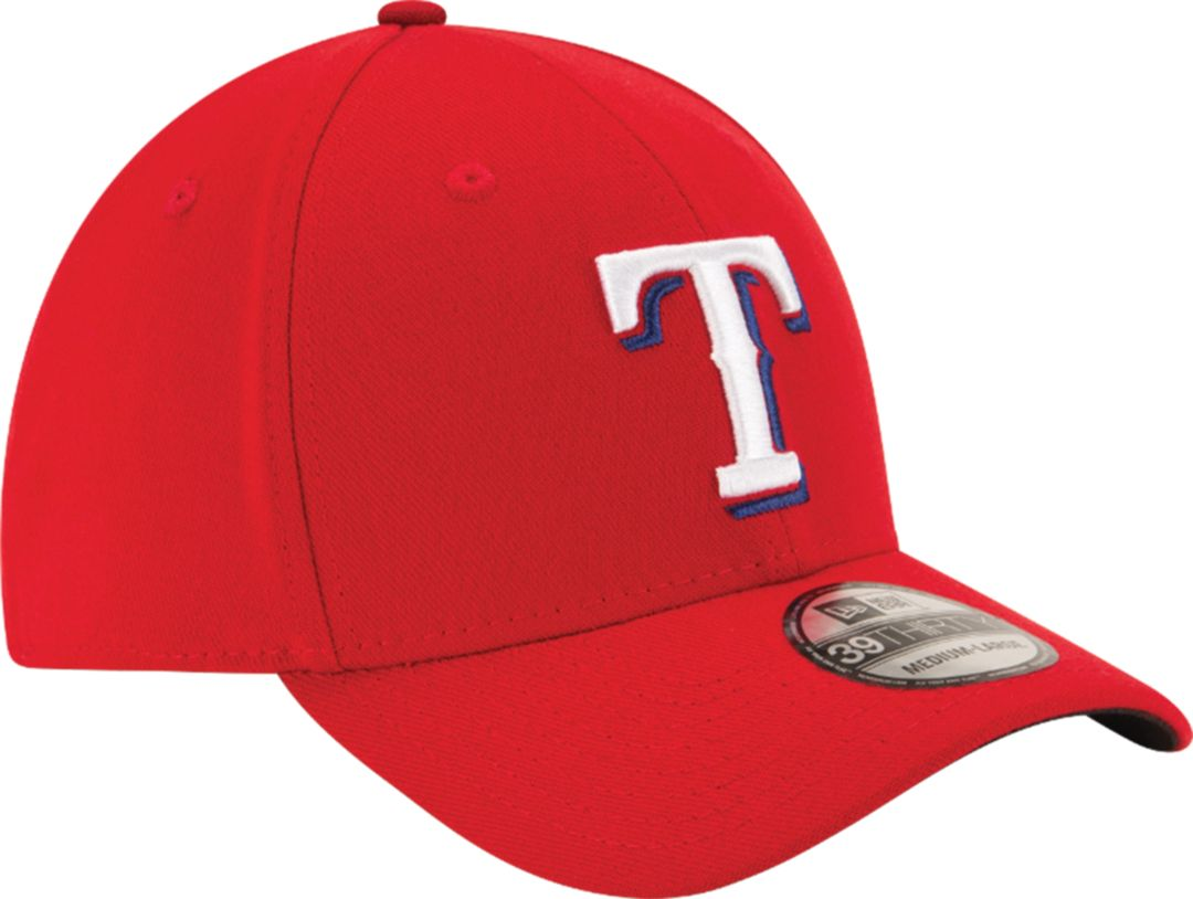 factory authentic 81d42 8da2a New Era Men s Texas Rangers 39Thirty Classic Red Stretch Fit Hat 3