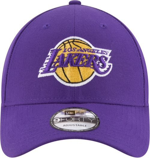 6c00a9bb142 New Era Men s Los Angeles Lakers 9Forty Adjustable Hat