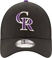 New Era Men's Colorado Rockies 39Thirty Classic Black Stretch Fit Hat product image
