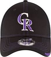 New Era Men's Colorado Rockies 39Thirty Black Neo Stretch Fit Hat product image