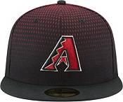 New Era Men's Arizona Diamondbacks 59Fifty Game Black Authentic Hat product image