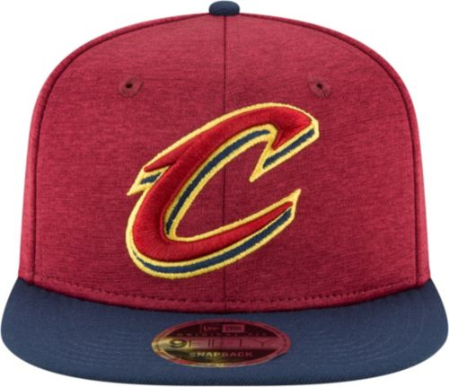 66f656c54f3 New Era Men s Cleveland Cavaliers 9Fifty Adjustable Snapback Hat ...