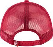 New Era Men's Washington Nationals 9Forty Red Trucker Adjustable Hat product image