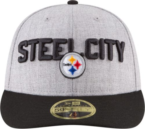 f258e589a New Era Men s Pittsburgh Steelers 2018 NFL Draft 59Fifty Fitted Grey Hat.  noImageFound. Previous. 1. 2. 3