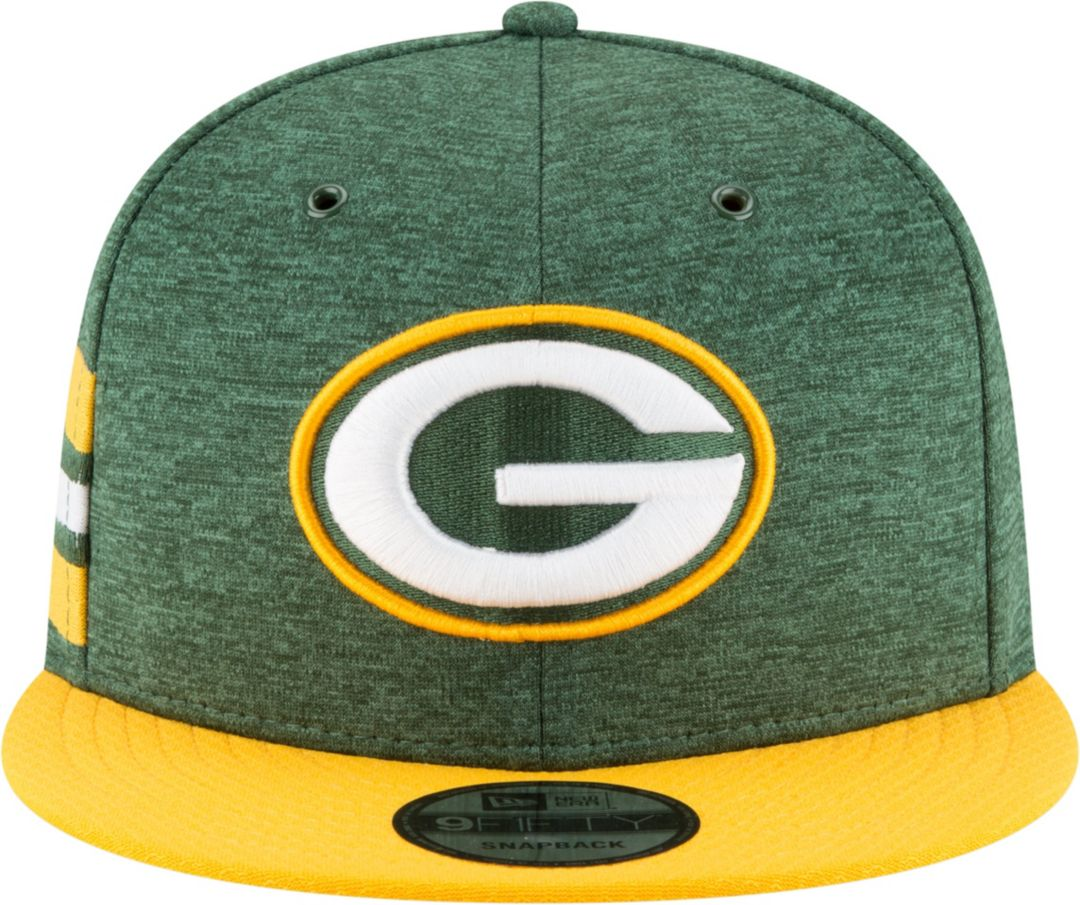 927d1ce7 New Era Men's Green Bay Packers Sideline Home 9Fifty Green Adjustable Hat