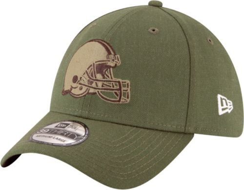 06ba2593007 New Era Men s Salute to Service Cleveland Browns 39Thirty Olive Stretch Fit  Hat. noImageFound. Previous. 1. 2. 3