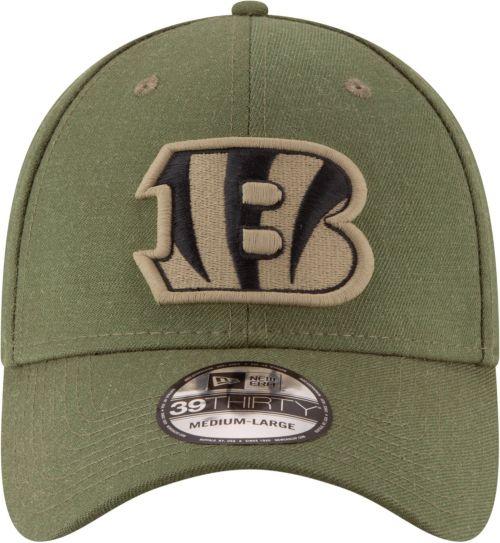 New Era Men s Salute to Service Cincinnati Bengals 39Thirty Olive ... f2f811673e1