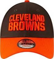 New Era Men's Cleveland Browns Orange League 9Forty Adjustable Hat product image
