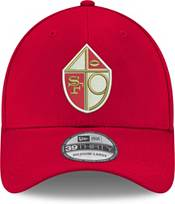 New Era Men's San Francisco 49ers 39Thirty Red Stretch Fit Hat product image