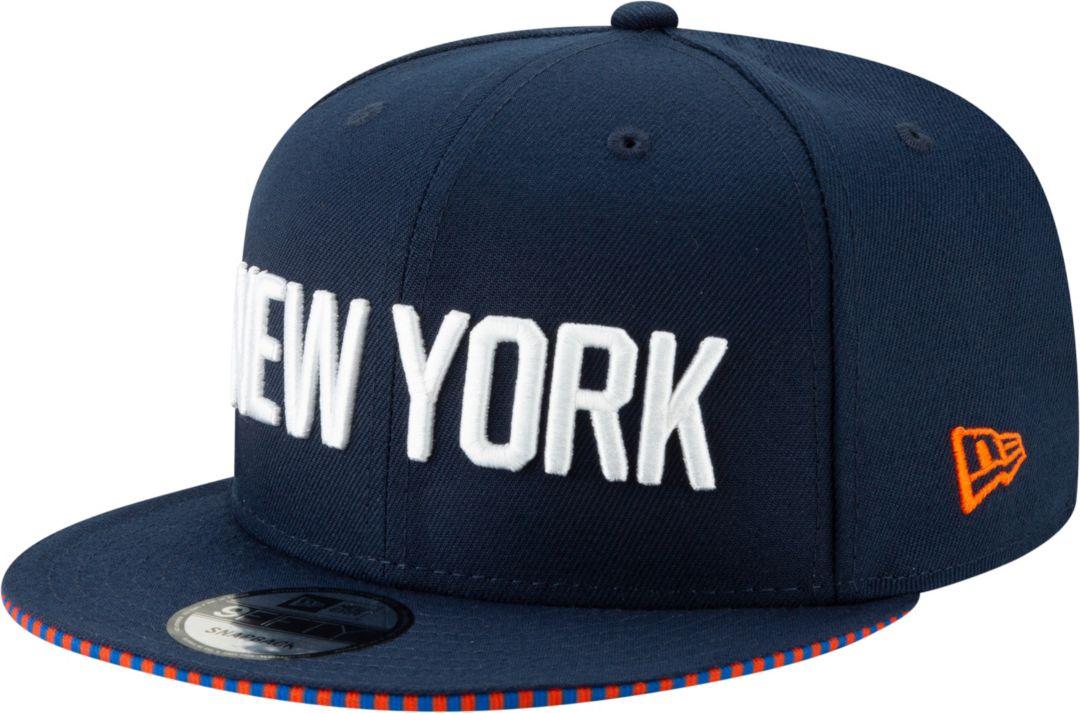 f5e078c67ca421 New Era Men's New York Knicks 9Fifty City Edition Adjustable Snapback Hat.  noImageFound. Previous. 1. 2. 3