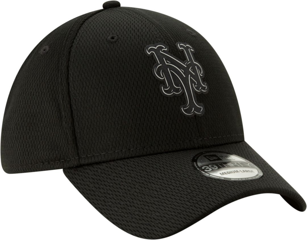 best sneakers 7a89f ad08d New Era Men s New York Mets 39Thirty Clubhouse Black Stretch Fit Hat.  noImageFound. Previous. 1. 2. 3