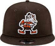 New Era Men's Cleveland Browns Basic Throwback Logo 9Fifty Fitted Hat product image