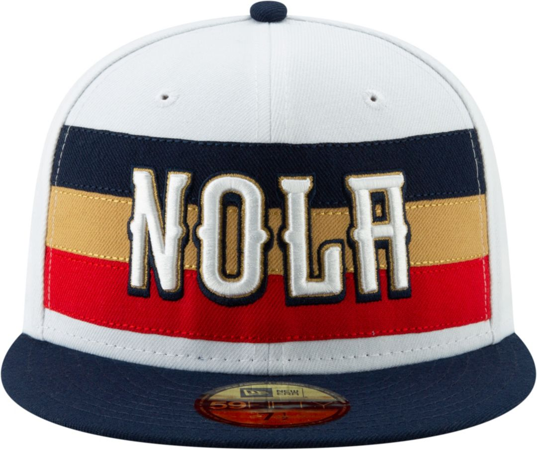 save off fb21b 5bf15 New Era Men s New Orleans Pelicans 59Fifty Earned Edition Fitted Hat