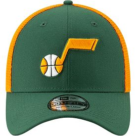 save off 68686 ff3ce New Era Men s Utah Jazz 39Thirty Earned Edition Stretch Fit Hat ...