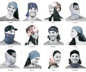 Buff Men's Original Anira Graphite Neck Gaiter product image