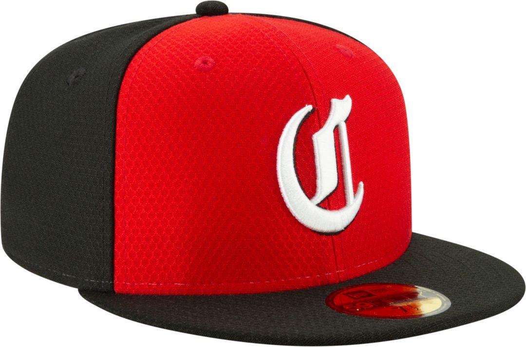 best cheap cecb3 c941e New Era Men s Cincinnati Reds 59Fifty HexTech Batting Practice Fitted Hat 3