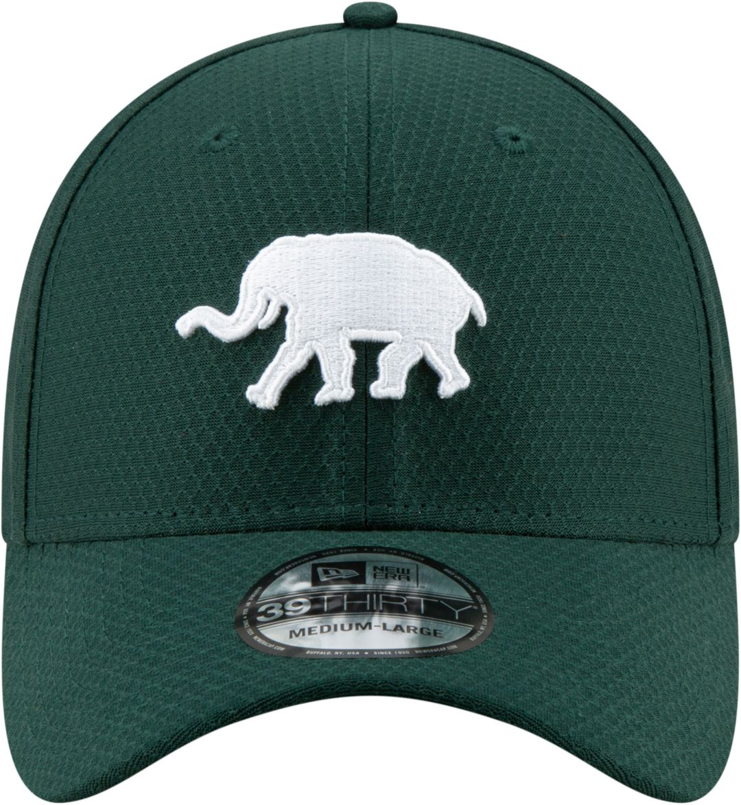 new arrival f6375 82de0 New Era Men s Oakland Athletics 39Thirty HexTech Batting Practice Stretch  Fit Hat 2