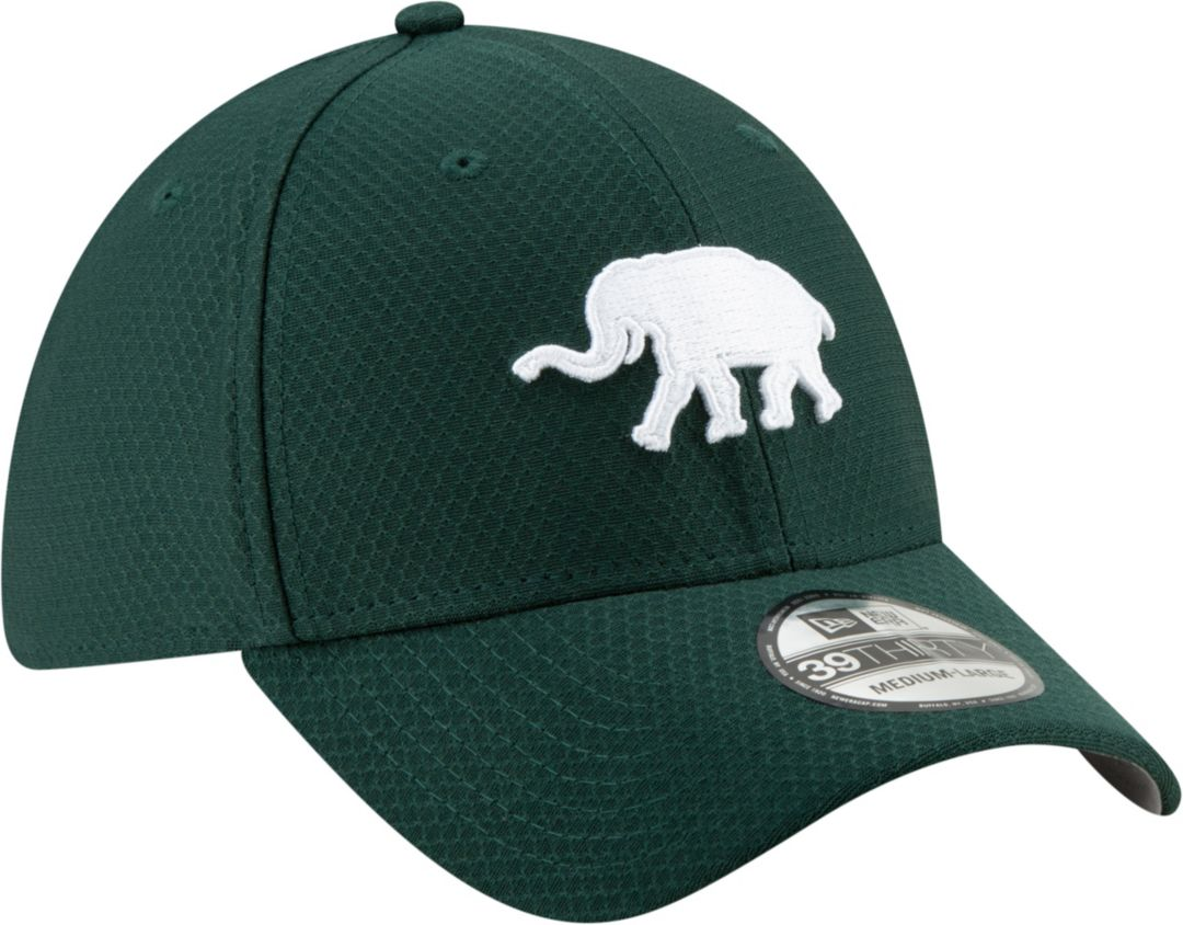 online store 8f923 266d1 New Era Men s Oakland Athletics 39Thirty HexTech Batting Practice Stretch  Fit Hat 3