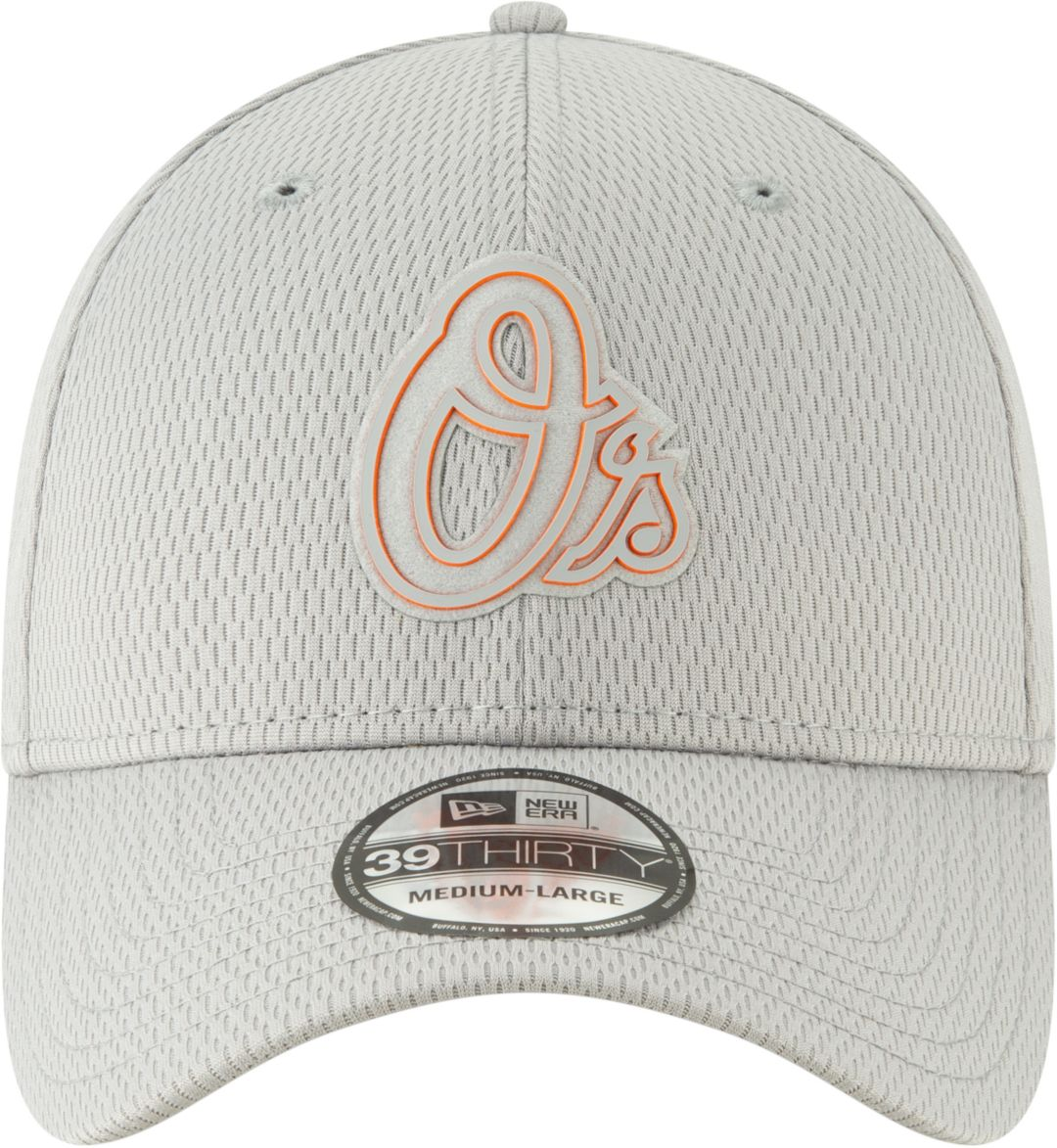 quality design fc50e 9a3c7 New Era Men s Baltimore Orioles 39Thirty Clubhouse Grey Stretch Fit Hat.  noImageFound. Previous. 1. 2. 3