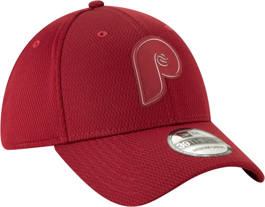 half off 6406b f64cd New Era Men s Philadelphia Phillies 39Thirty Clubhouse Maroon Stretch Fit  Hat. noImageFound. Previous. 1. 2. 3