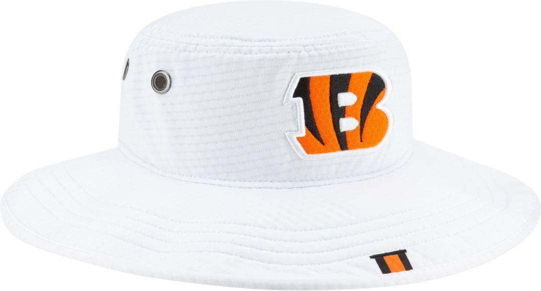 best authentic f39cf 6a5c1 New Era Men s Cincinnati Bengals Sideline Training Camp Panama White Bucket  Hat. noImageFound. Previous. 1. 2. 3