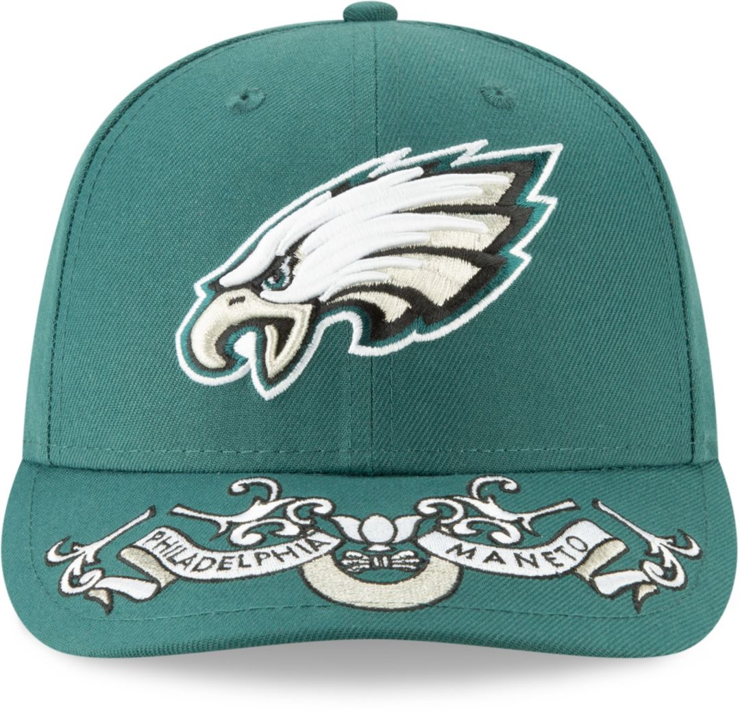 a26f5c8c New Era Men's Philadelphia Eagles 2019 NFL Draft 59Fifty Fitted Green Hat