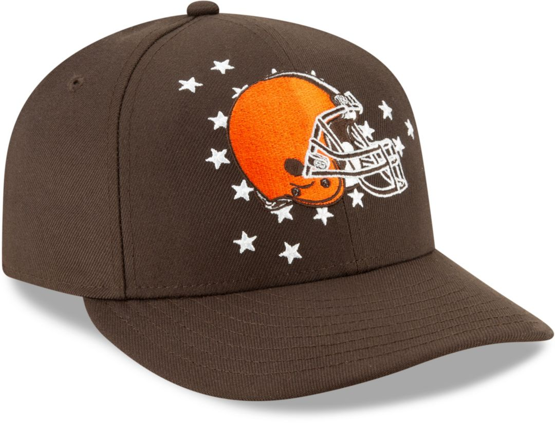 6a63dd587 New Era Men's Cleveland Browns 2019 NFL Draft 59Fifty Fitted Brown Hat.  noImageFound. Previous. 1. 2. 3