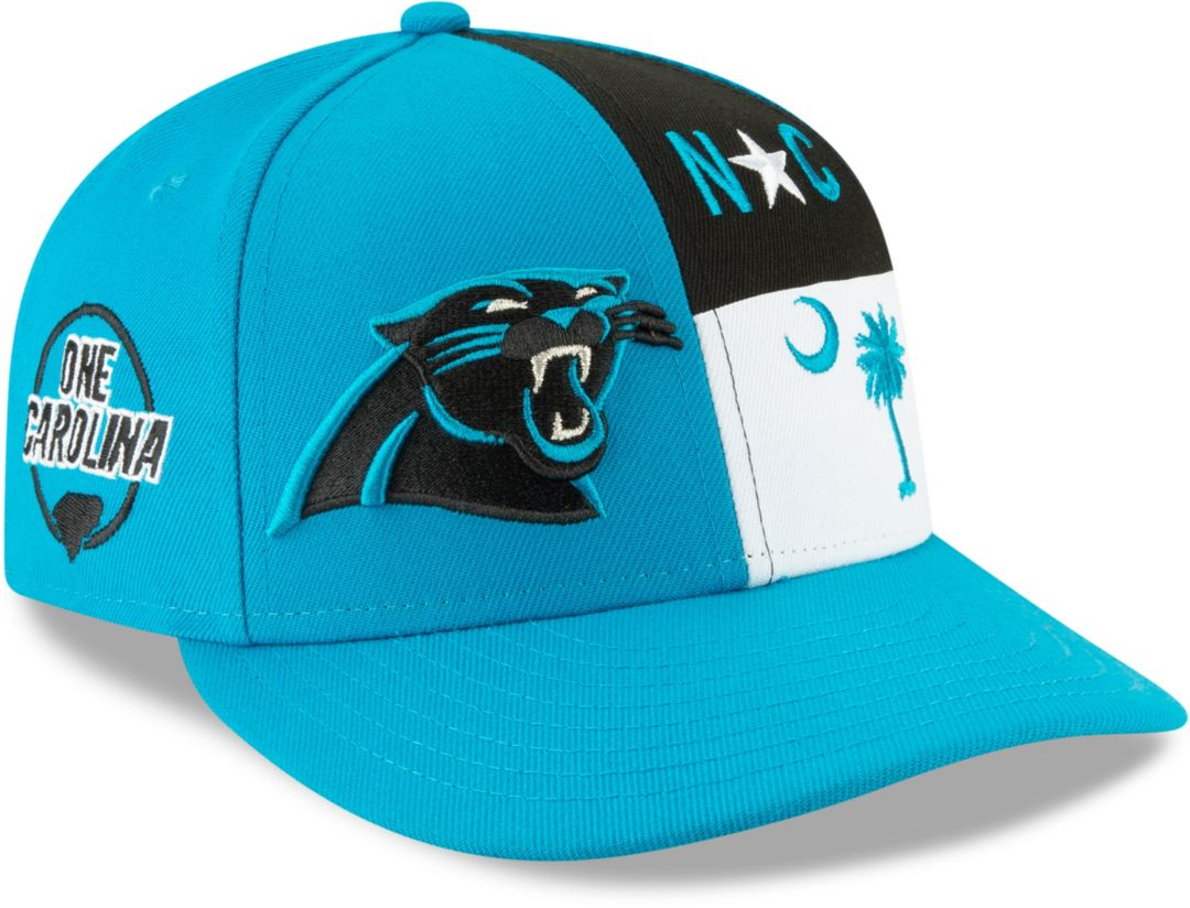 cd833707fe8c6c New Era Men's Carolina Panthers 2019 NFL Draft 59Fifty Fitted Blue Hat