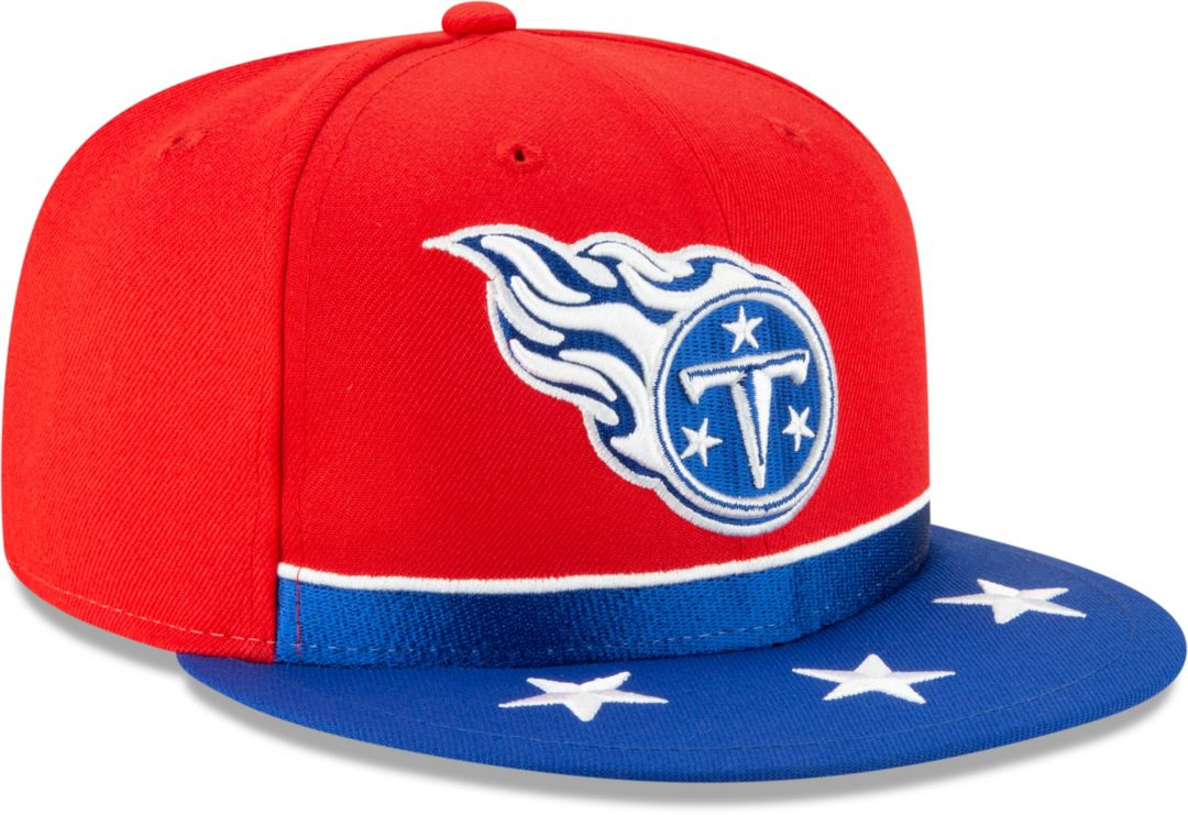size 40 b025c ef8bb New Era Men s Tennessee Titans 2019 NFL Draft 9Fifty Snapback Adjustable  Red Hat. noImageFound. Previous. 1. 2. 3