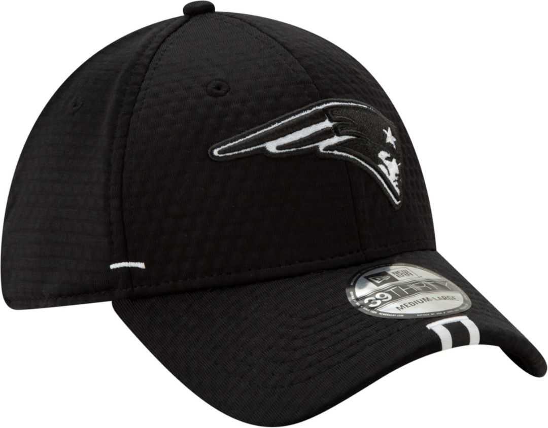 detailed look bb1e4 6d562 New Era Men s New England Patriots Sideline Training Camp 39Thirty Stretch  Fit Black Hat. noImageFound. Previous. 1. 2. 3