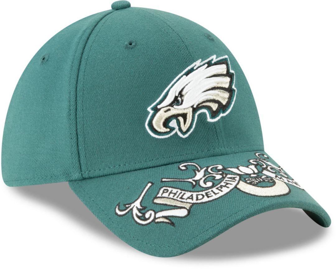 new arrival 2e685 e06ee New Era Men s Philadelphia Eagles 2019 NFL Draft 39Thirty Stretch Fit Green  Hat. noImageFound. Previous. 1. 2. 3