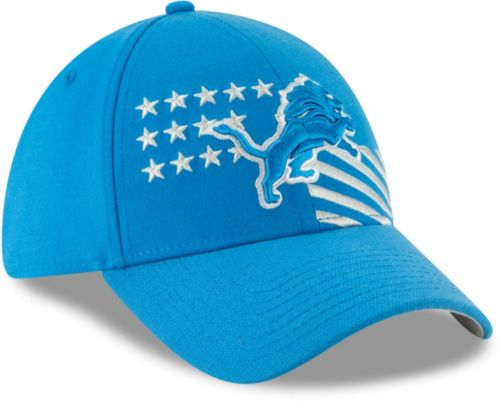 sale retailer f8828 b866c New Era Men s Detroit Lions 2019 NFL Draft 39Thirty Stretch Fit Blue ...