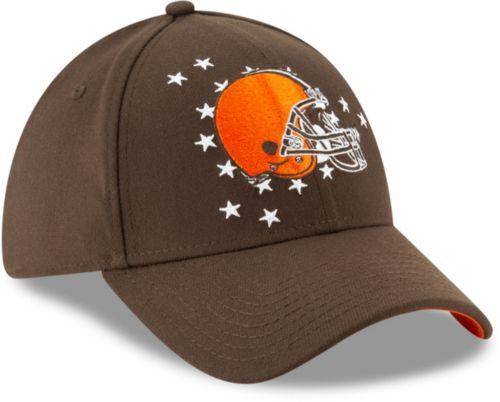 4ba8a5207de6c New Era Men s Cleveland Browns 2019 NFL Draft 39Thirty Stretch Fit Brown Hat.  noImageFound. Previous. 1. 2. 3