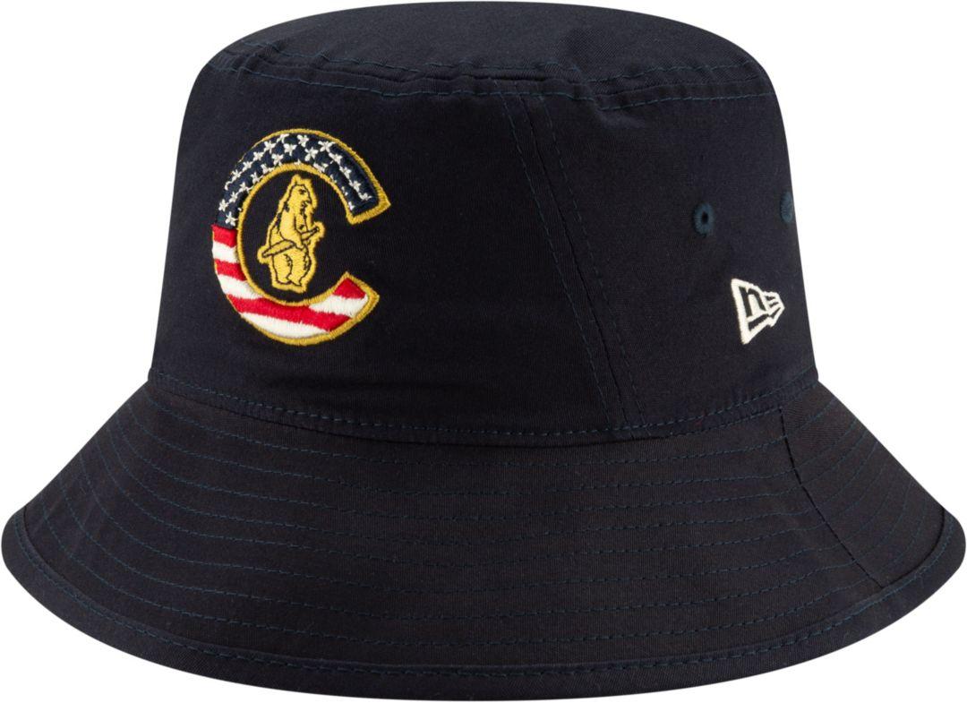 pretty nice a72f2 e87de New Era Men s Chicago Cubs 2019 4th of July Bucket Hat