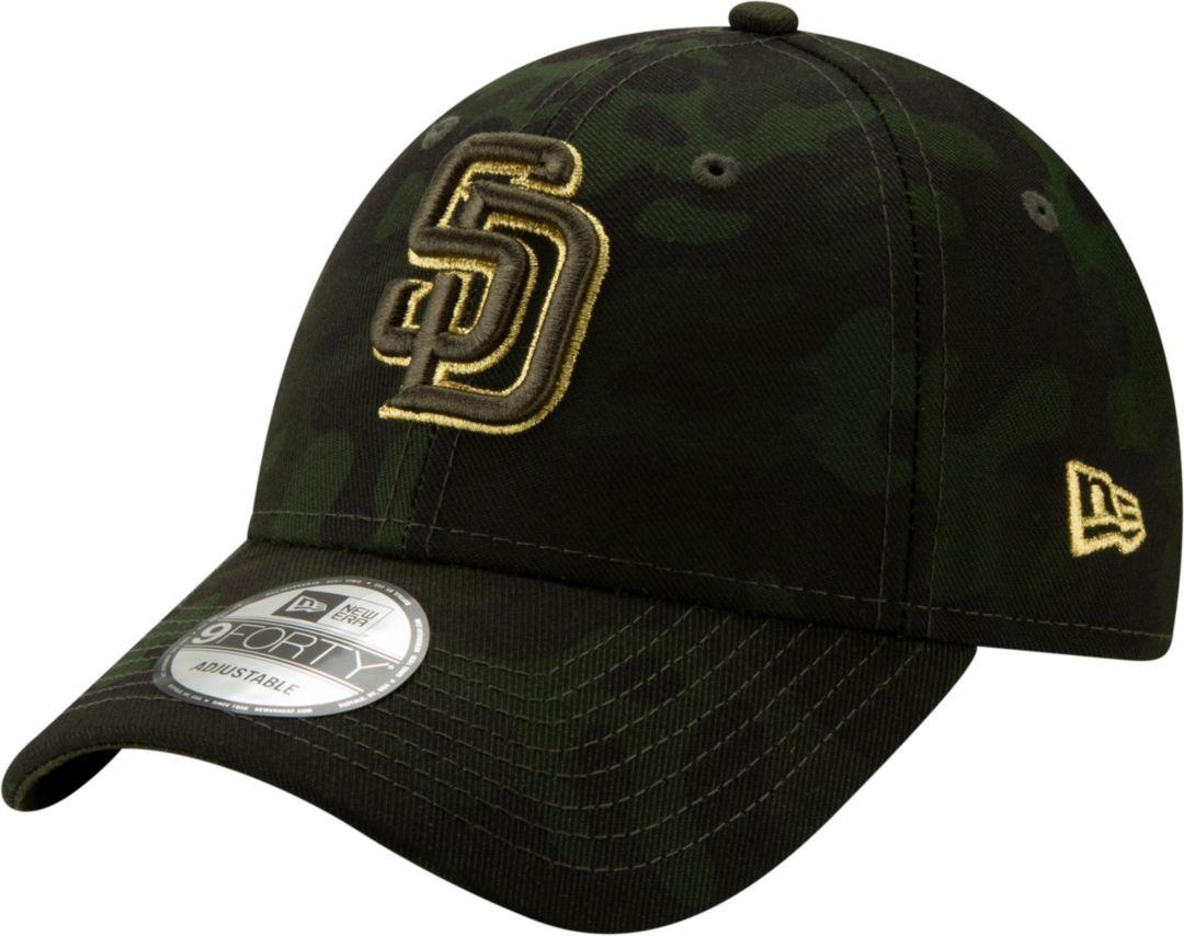d4229e11 New Era Men's San Diego Padres 9Forty Armed Forces Adjustable Hat ...