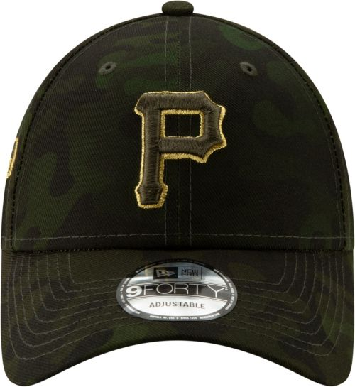 new york a6d69 d7715 New Era Men s Pittsburgh Pirates 9Forty Armed Forces Adjustable Hat.  noImageFound. Previous. 1. 2