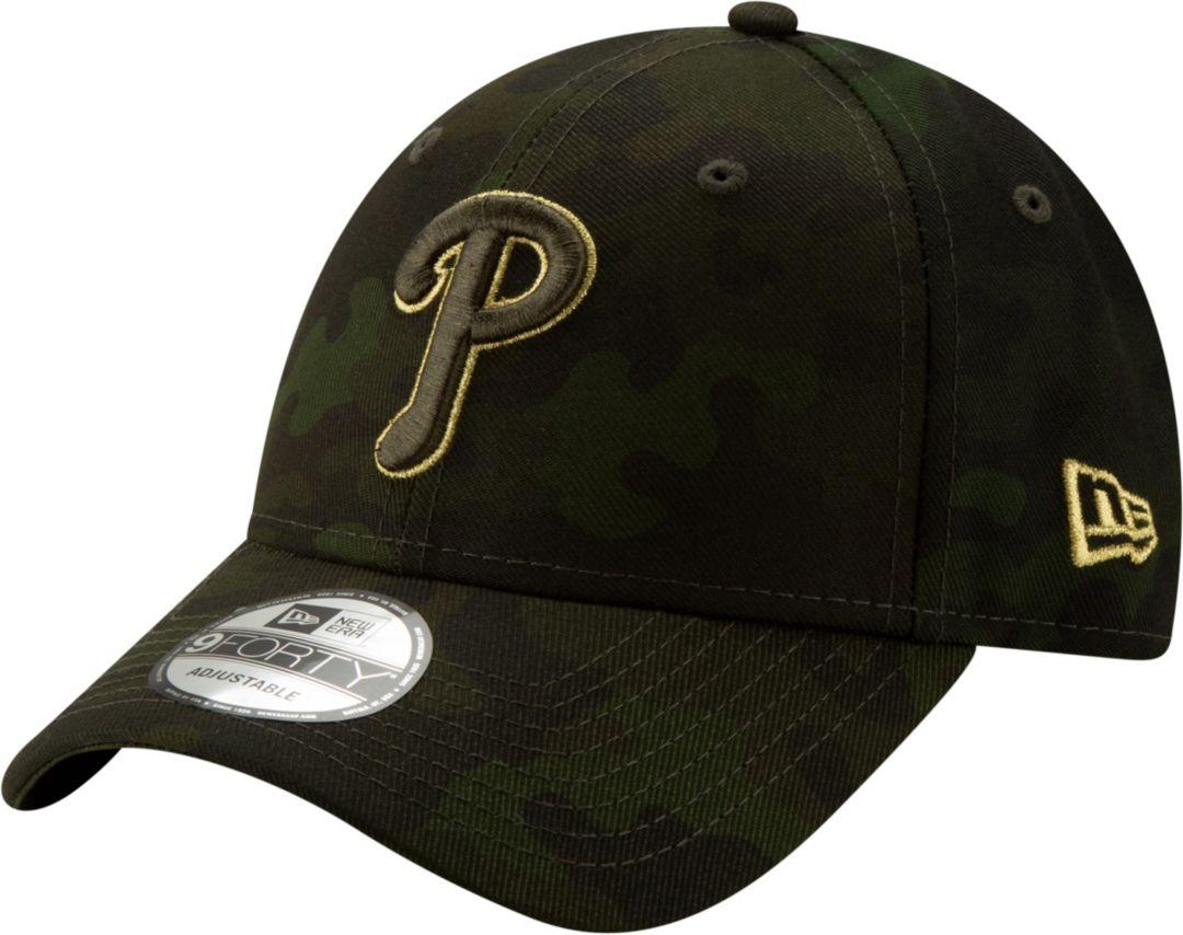 779d1c6c9 New Era Men's Philadelphia Phillies 9Forty Armed Forces Adjustable Hat