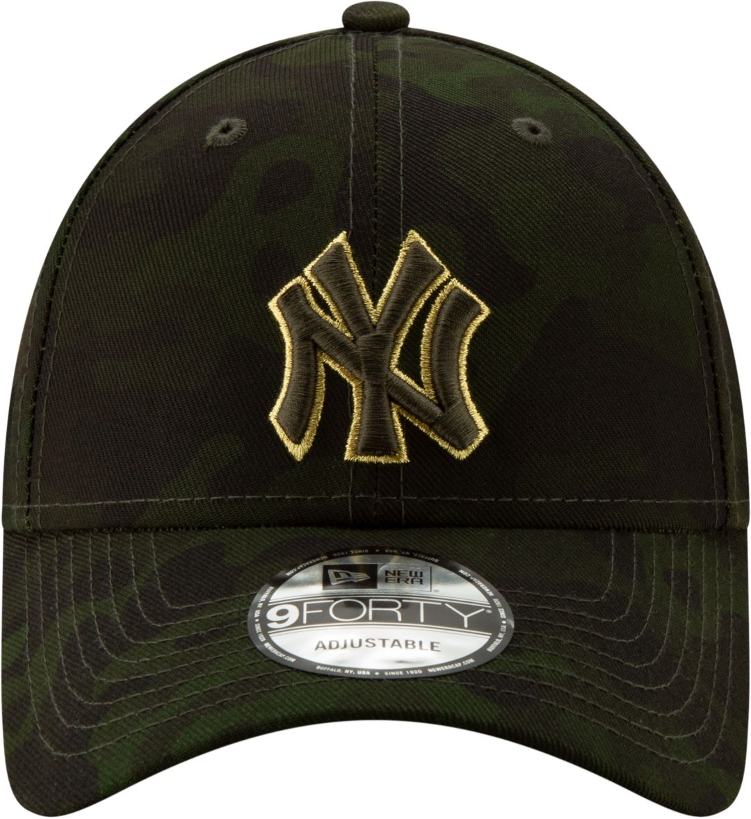 7134147dfb790 New Era Men's New York Yankees 9Forty Armed Forces Adjustable Hat ...