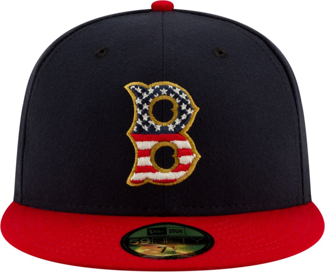 official photos 0a6bc f179c New Era Men's Boston Red Sox 59Fifty 2019 4th of July Fitted Hat