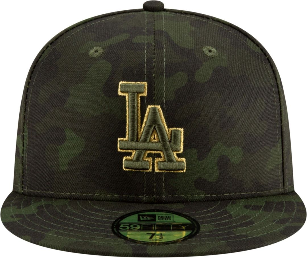 innovative design cf3a4 75855 New Era Men s Los Angeles Dodgers 59Fifty Armed Forces Fitted Hat