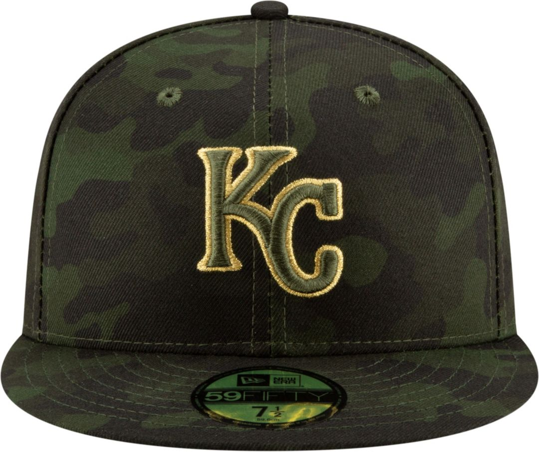 half off 5d448 807b0 New Era Men s Kansas City Royals 59Fifty Armed Forces Fitted Hat.  noImageFound. Previous. 1. 2