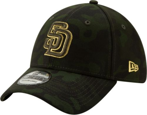 size 40 2502f ff71f ... new era mens san diego padres 39thirty armed forces stretch fit hat