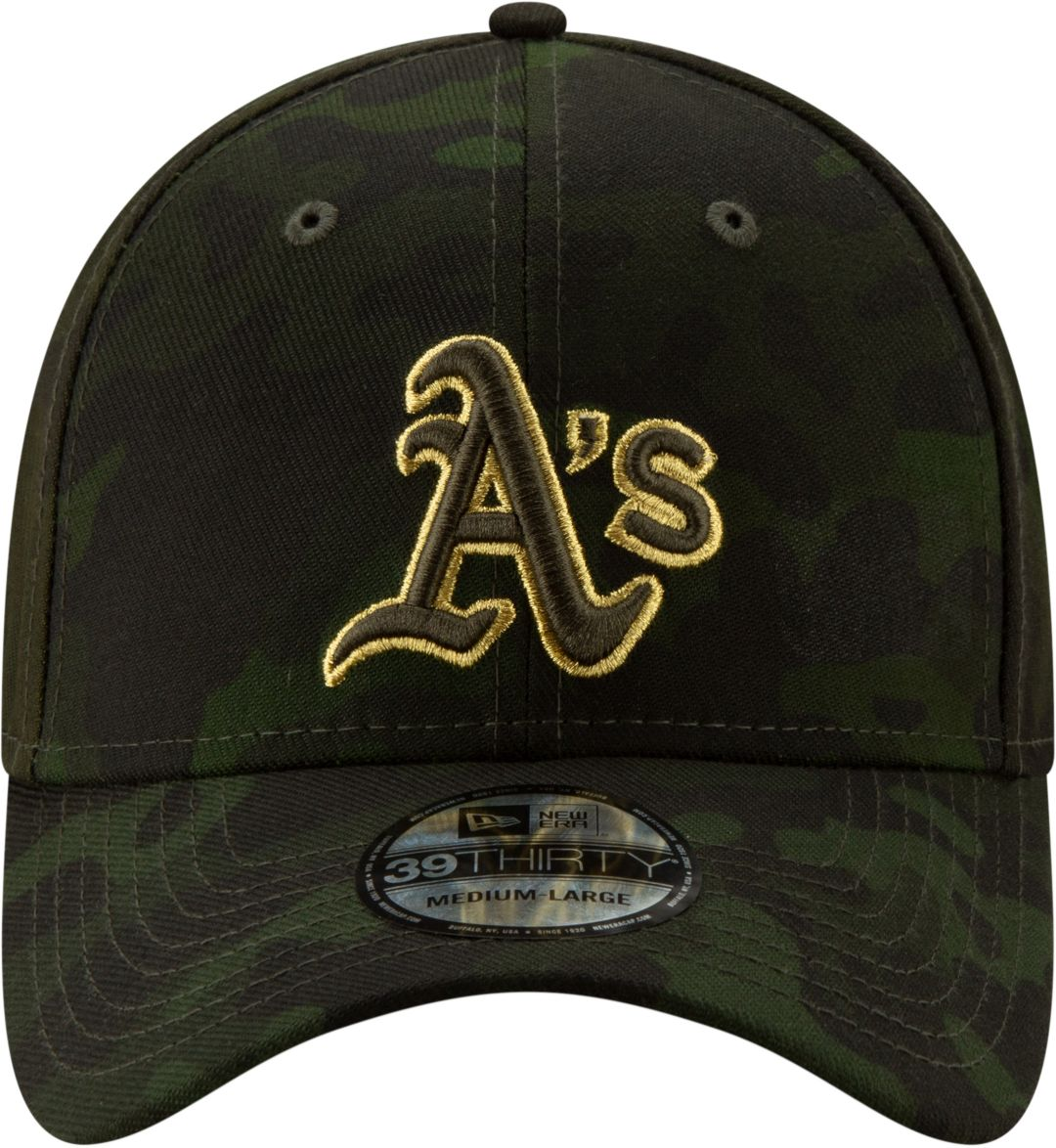 new style e1273 11308 New Era Men s Oakland Athletics 39Thirty Armed Forces Stretch Fit Hat 2