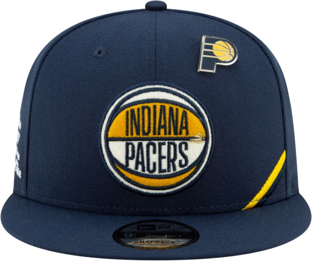 the latest f3c8b 9e236 New Era Men s Indiana Pacers 2019 NBA Draft 9Fifty Adjustable Snapback Hat.  noImageFound. Previous. 1. 2