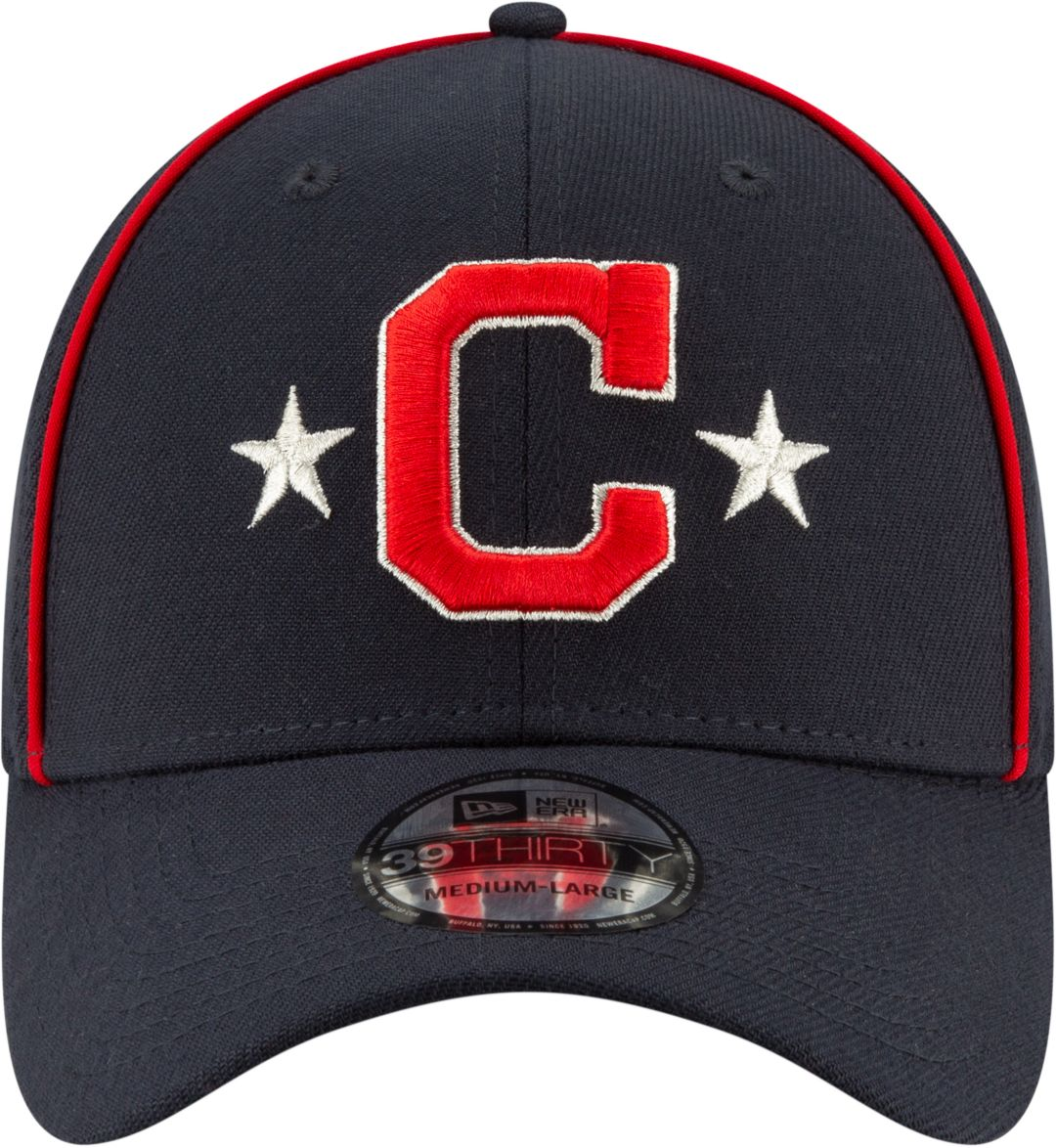 33b3acedb New Era Youth Cleveland Indians 39Thirty 2019 MLB All-Star Game Stretch Fit  Hat