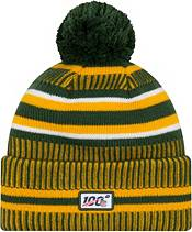 New Era Men's Green Bay Packers Sideline Home Sport Pom Knit product image
