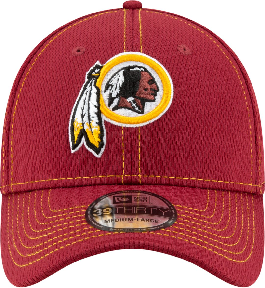 70f5d704 New Era Men's Washington Redskins Sideline Road 39Thirty Stretch Fit Hat