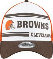 New Era Men's Cleveland Browns Sideline 1970 Home 39Thirty Stretch Fit Hat product image