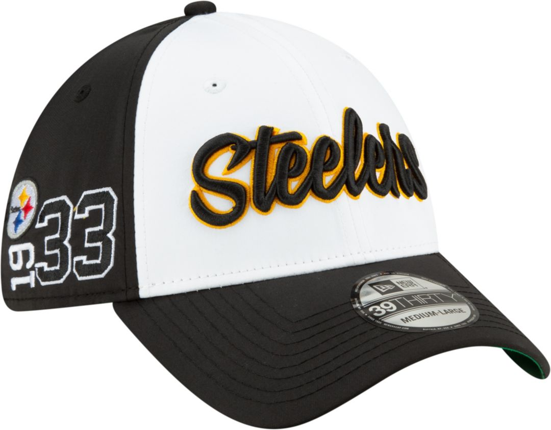976e7ba51 New Era Men's Pittsburgh Steelers Sideline 1960 Home 39Thirty Stretch Fit  Hat
