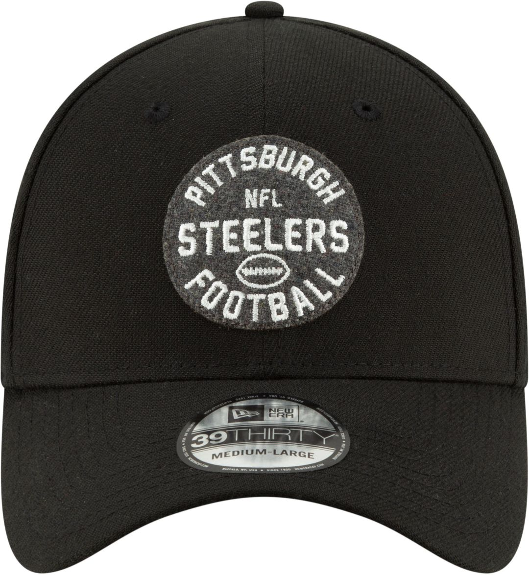 b1e35d78 New Era Men's Pittsburgh Steelers Sideline 1930 Home 39Thirty Stretch Fit  Hat